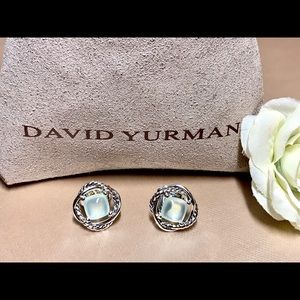 David Yurman Aqua Chalcedony Earrings